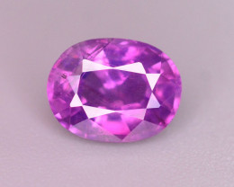 Rare 0.75 Ct Amazing Color Natural Corundum Sapphire From Kashmir