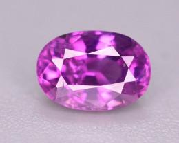 Rare 0.70 Ct Natural Corundum Pink Sapphire From Kashmir