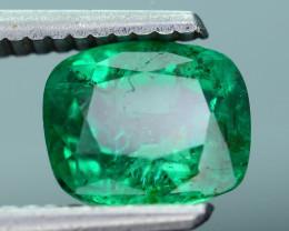 AIG Certified Top Color 1.86 ct Zambian Emerald SKU-28