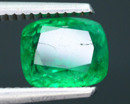 AIG Certified Top Color 2.04 ct Zambian Emerald SKU-27