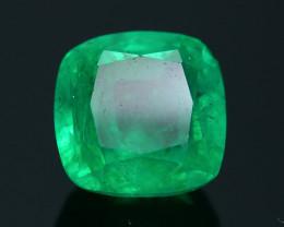 AIG Certified Top Color 2.46 ct Zambian Emerald SKU-27