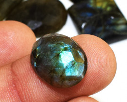 Genuine 139.00 Cts Untreated Amazing Flash Labradorite Cabochon Lot