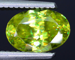 AAA Brilliance 2.28 ct Sphene Rainbow Colors Sku-26