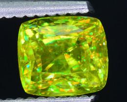 AAA Brilliance 1.85 ct Sphene Rainbow Colors Sku-25
