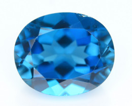 AAA Color 6.05 ct London Blue Topaz SKU.2