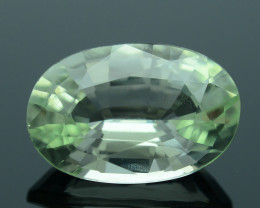 Rare AAA Grade 4.69 ct Unusual Soft Green Chrysoberyl SKU.6