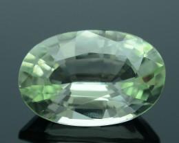 Rare Chrysoberyl AAA Grade 4.69 ct One of Kind Soft Green  SKU.6