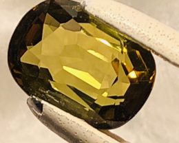 GGA- 2.23 CT - Tourmaline VVS !! -YELLOWISH-GREEN-FULL FIRE