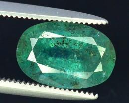 Top Color 2.45 Cts Natural Emerald Gemstones