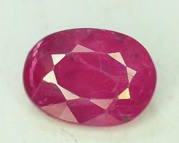 1.25 ct Natural Ruby Gemstone