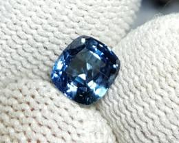 UNHEATED CERTIFIED 1.23 CTS NATURAL BEAUTIFUL BLUE SAPPHIRE CEYLON SRI LANK
