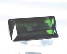 Forest Green 2.38ct Baguette Cut Tourmaline - Brazil BB2