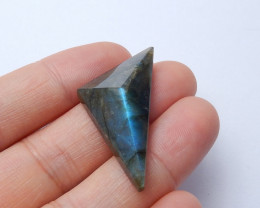 Labradorite triangle faceted gemstone faceted gemstone wholesale A933