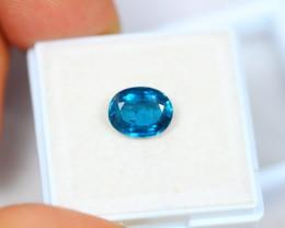 1.85ct Greenish Blue Kyanite Oval Cut Lot V3080