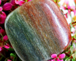 Genuine 46.00 Cts Bloodstone Untreated Cabocohon