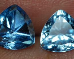 2.75 CRT GORGEOUS SKY BLUE TOPAZ PAIR-