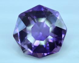 18.60 ^ Carats Fancy Cut Natural Amehthyst Gemstone