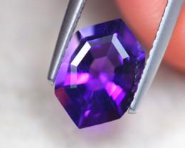 1.66Ct Natural Purple Amethyst Fancy Cut Lot Z534