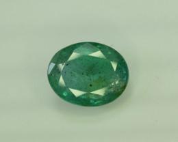2.30 ^ Carats Oval Cut Natural Zambian Emerald Gemstone