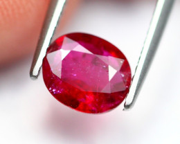 1.19Ct Natural Burmese Vivid Pigeon Blood Red Ruby Heated Only ~ B1104