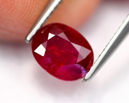 1.43Ct Natural Burmese Vivid Pigeon Blood Red Ruby Heated Only ~ B1107