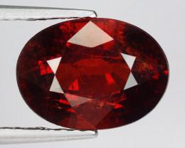 3.71 Ct Spessartite Garnet Pure Red Gem Quality Gemstone SG39