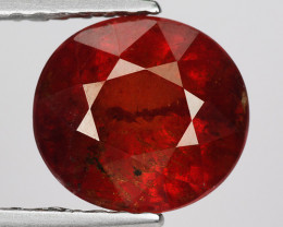 2.63 Ct Spessartite Garnet Pure Red Gem Quality Gemstone SG44