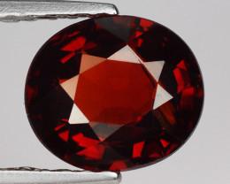 1.57 Ct Spessartite Garnet Pure Red Gem Quality Gemstone SG47