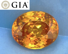 13.14 cts GIA Certified Spanish Sphalerite - Loupe Clean - Ultra Rare