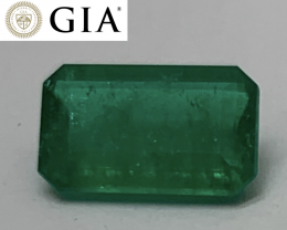 $5000 ~ 2.15 cts GIA Certified Colombian Emerald - Top Green - Best Color