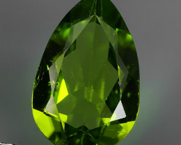 2.75 Cts High Best Natural Apple Green pear Pakistan Peridot~