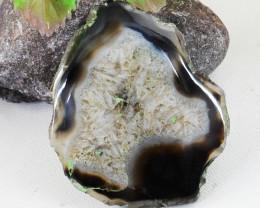 Genuine 116.00 Cts Slice Agate Gemstone