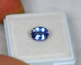 2.19Ct Violet Blue Tanzanite Oval Cut Lot Z439