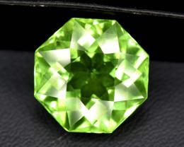 NR Auction ~ 6.60 Carats Olivine Green Natural Peridot Gemstone