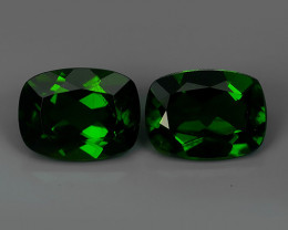 3.00 CTS NATURAL ULTRA RARE CHROME TOP GREEN DIOPSIDE RUSSIA~