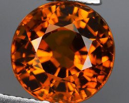 1.70 CTS~EXQUISITE NATURAL UNHEATED BROWNISH HONEY COLOR ROUND MALI GARNET!