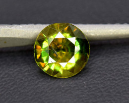 1.05 cts Natural Full Fire Chrome Sphene Titanite Gemstone