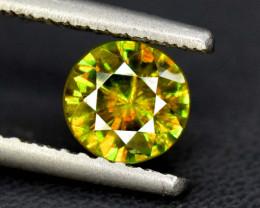 1.10 cts Natural Full Fire Chrome Sphene Titanite Gemstone