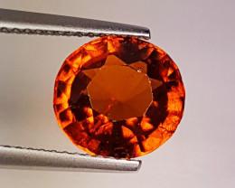 "4.00 ct "" Top Quality Gem"" Beautiful Round Cut Natural Hessonite"
