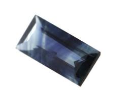 0.33cts Natural Australian Blue Sapphire Baguette Cut