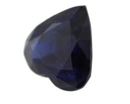 0.76cts Natural Australian Blue Sapphire Heart Shape