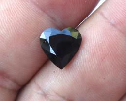4.80cts Natural Australian Blue Sapphire Heart Cut