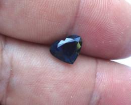 2.08cts Natural Australian Blue Sapphire Heart Cut