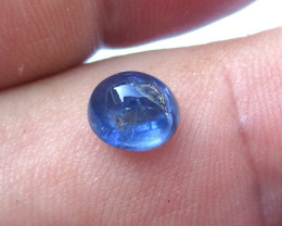2.74cts Natural Burma Sapphire Oval Cabochon
