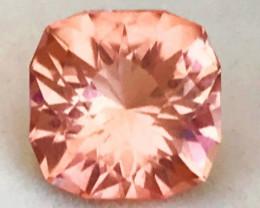 Designer Cut 2.76ct Orangey Peach Tourmaline, Tanzania A1826