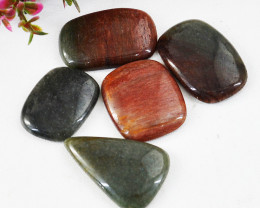 Genuine 127.00 Cts Multicolor Jasper Gems Lot
