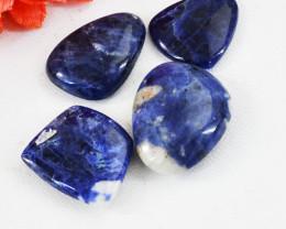 Genuine 53.00 Cts Blue Sodalite Gemstone Lot