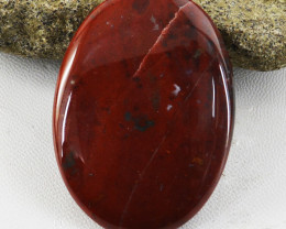 Genuine 62.00 Cts Oval Shape Bloodstone Cabochon