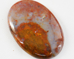 Genuine 74.00 Cts Oval Shape Agate Untreated Cabochon