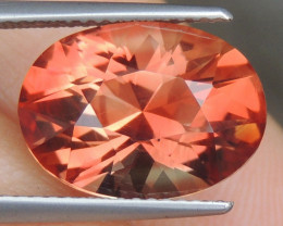 BLACK FRIDAY 6.17cts Oregon Sunstone,   Top Brilliant Cut,  Untreated